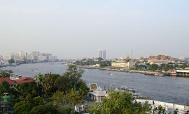 Chaophraya river view Stock Photography