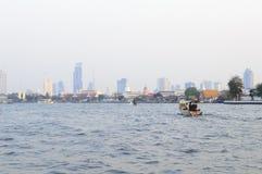 Chaophraya river view Stock Photos