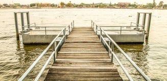 Chaopraya河码头 免版税库存图片