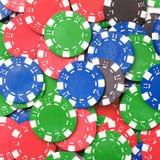 Chaos abstract color photo closeup Royalty Free Stock Photos
