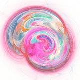 Chaos colorful wheel. Abstract chaos colorful wheel on white background Stock Images