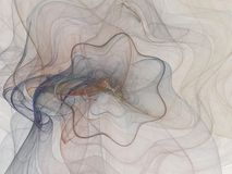 From chaos comes order. Light airy background of swirls and lines Stock Photography