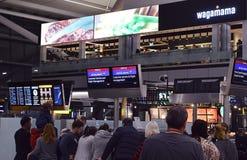 Chaos de British Airways, Londres Heathrow Photos stock
