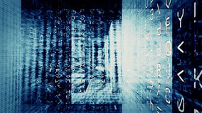 Chaos 0354 de données numériques Photos stock