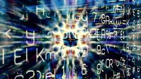 Chaos 0430 de données numériques Photos libres de droits