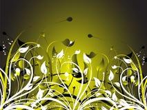 Chaos floral illustration de vecteur