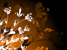 Chaos floral Image libre de droits