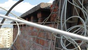 Chaos Internetowa sieć na dachu zbiory wideo