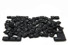 Chaos keyboard Stock Image