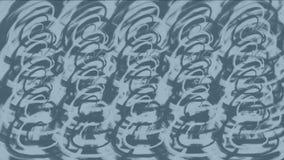 Chaos-Kurvenlinie Hintergrund, wickelnder Kräuselungsdraht-Webarthintergrund der abstrakten Kunst 4k lizenzfreie abbildung