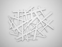 Chaos lines background Stock Photo