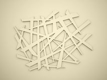 Chaos lines background Stock Images