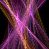 Chaos rays. Chaos colorful rays background Royalty Free Stock Photography