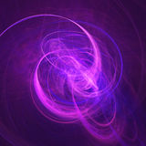 Chaos rays space. Chaos flame rays tracks on dark background Stock Images