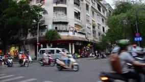 Chaos of Saigon stock video footage