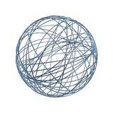 Chaos wire ball Stock Images