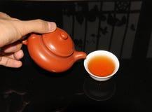 Chaoshan kunfu茶 免版税库存照片