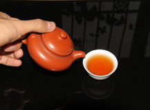 Chaoshan kunfu tea Royalty Free Stock Photo
