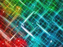 Chaosnet - abstract digitaal geproduceerd beeld Royalty-vrije Stock Afbeeldingen
