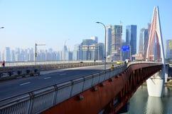 chaotianmen most Zdjęcie Royalty Free