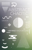 Chaotic Abstract Background Stock Photos