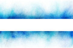 Chaotic background. Blue banner element on white background Royalty Free Stock Photos