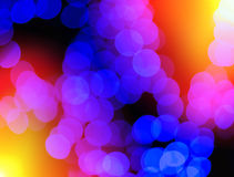 Chaotic blue blobs with light leak bokeh background. Hd royalty free stock photos