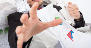 Chaotic business stock photography