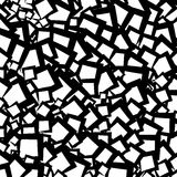 Chaotic geometric texture / pattern with random edgy shapes Stock Photos