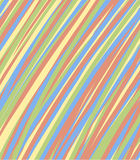 Chaotic lines pattern. Simple colorful Royalty Free Stock Photos
