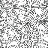 Chaotic pattern Stock Photo
