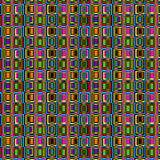 Chaotic squares. Chaotic background pattern with squares Stock Photo