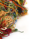 Chaotic yarns Stock Images