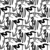 Chaotisch abstract geometrisch pijlpatroon Vector pijlen royalty-vrije illustratie