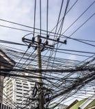 Chaotische elektriciteit Royalty-vrije Stock Afbeelding