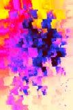 Chaotische helle Hintergrund-Beschaffenheit - Archivbild lizenzfreies stockfoto