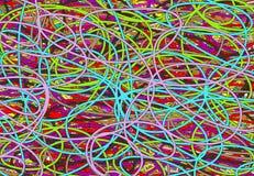 Chaotische Lijn royalty-vrije illustratie