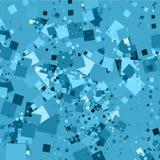 Chaotische vierkanten Royalty-vrije Stock Afbeelding