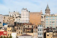 Chaotischer Bezirk von Istanbul Stockfoto