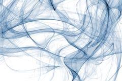 Chaotisches Blau Stockfotografie