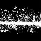 Chaotisches Blumengrunge lizenzfreie abbildung