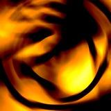 Chaotisches Inferno Stockfoto