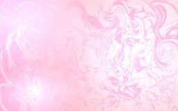 Chaotyczni dotyki na różowym tle Zdjęcie Royalty Free