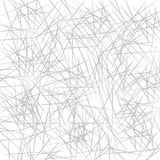 Chaotyczny siwieje linii tło acrylic barwi rysunkowego papier Obrazy Royalty Free