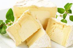 Chaource Cheese Royalty Free Stock Photo