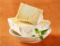 Chaource cheese Royalty Free Stock Photography