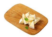 Chaource cheese Stock Image