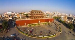 Chaoyang gate linan china Royalty Free Stock Photography
