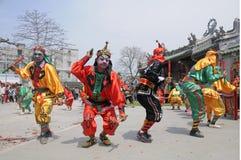 Chaozhou, province du Guangdong, la danse britannique image libre de droits
