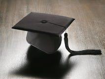 Chapéu académico quadrado Fotografia de Stock Royalty Free